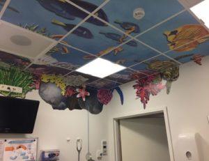 UZ Gent | Behandelkamer in Onderwater-thema