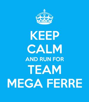 Team Mega Ferre @ AG Antwerp 10 Miles