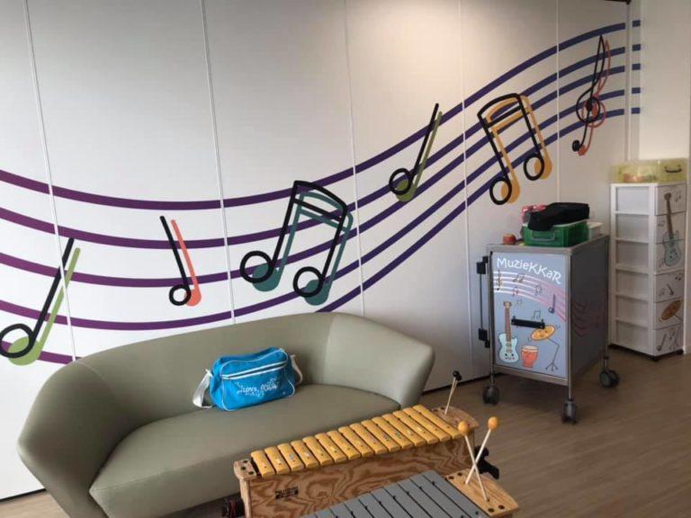 UZ Leuven | Muziekkamer Pediatrie