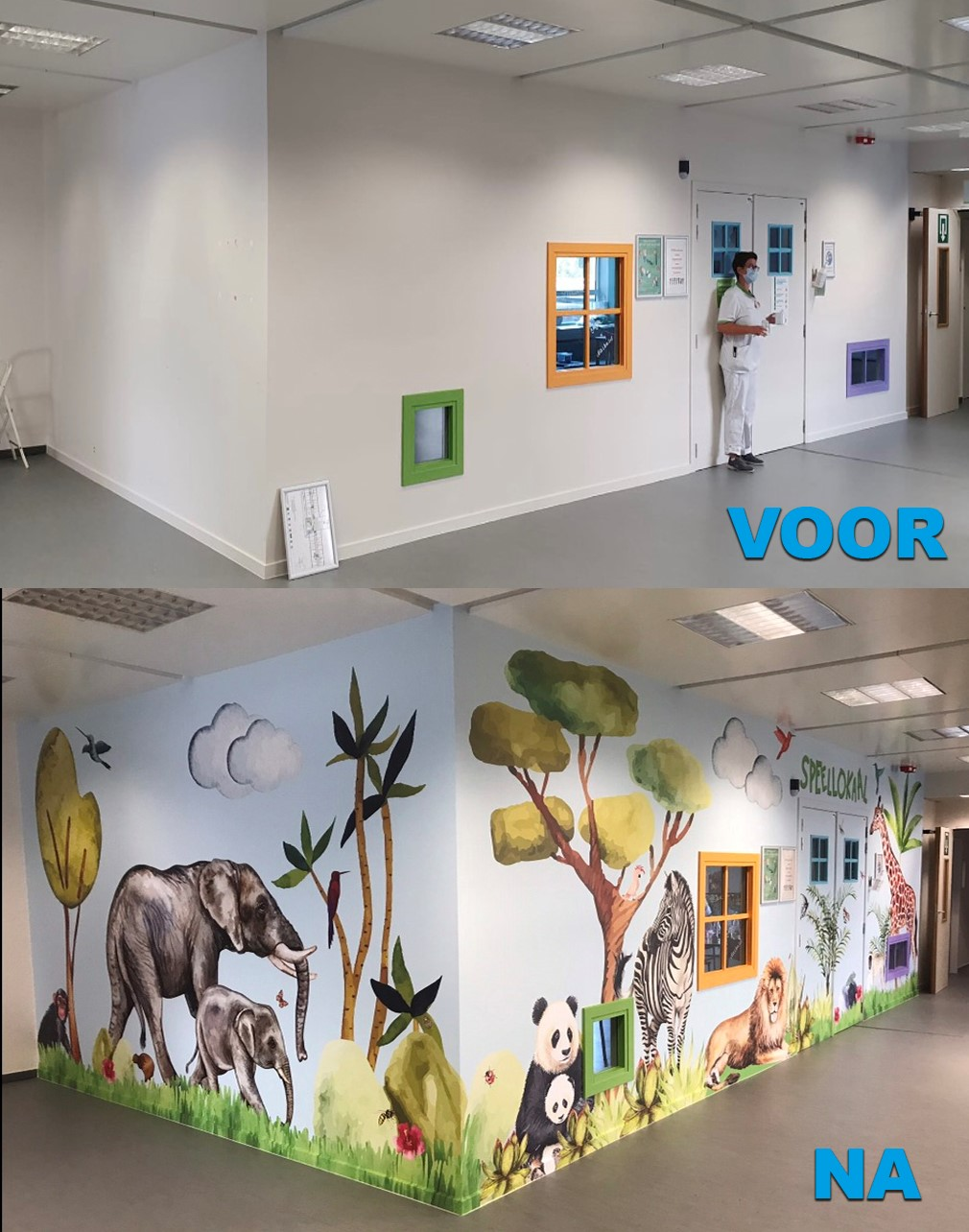 Koningin Paola Kinderziekenhuis | Jungle